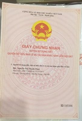 Bán đất tại đường Du Ngoại, Đông Anh, Hà Nội, diện tích 70m2